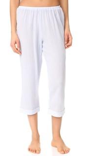 Укороченные пижамные брюки с окантовкой Skin