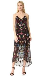 Платье Jameson с Y-образной спиной и вышивкой Alice + Olivia