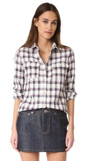 Женская рубашка на пуговицах A.P.C.