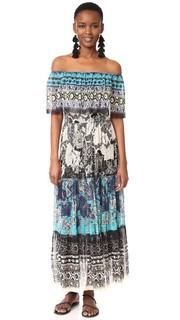 Платье с открытыми плечами Fuzzi