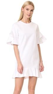 Платье из хлопка с оборками Goen.J
