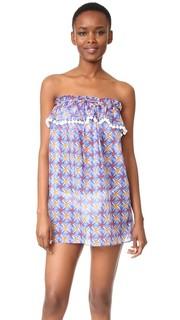 Пляжное платье с мозаичным принтом Milly
