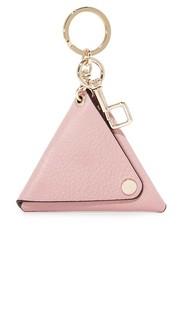 Кольцо для ключей с треугольником OAD