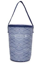 Объемная сумка-холодильник с короткими ручками Montauk Sunny Life