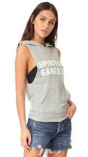 Толстовка с капюшоном без рукавов SG Spiritual Gangster