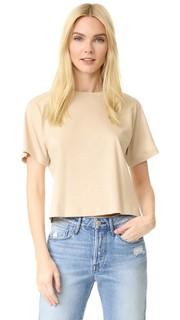 Укороченная футболка в стиле «бойфренд» 3x1
