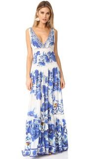 Многоярусное платье Ring of Roses Camilla