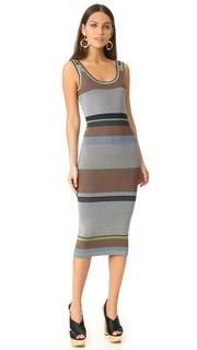 Трикотажное миди-платье без рукавов Diane von Furstenberg