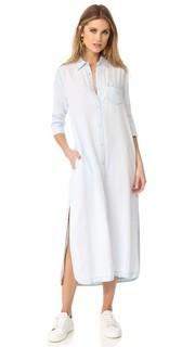 Длинное платье-рубашка с жаккардовым узором Dl1961