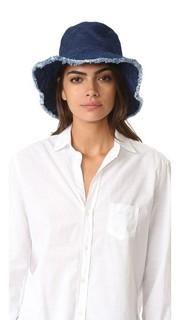 Шляпа Crusher с потрепанными краями Hat Attack