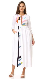 Миди-платье с вышивкой Mara Hoffman