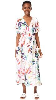 Макси-платье с запахом Mara Hoffman