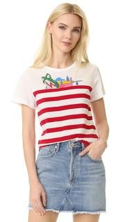 Классическая футболка в полоску Marc Jacobs