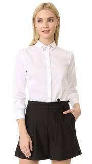 Рубашка Mains на пуговицах Maison Labiche