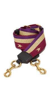 Ремешок для сумки со звездами и полосками Marc Jacobs