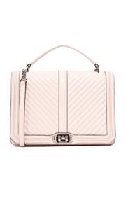 Большая сумка Love со стеганым геометрическим узором Rebecca Minkoff