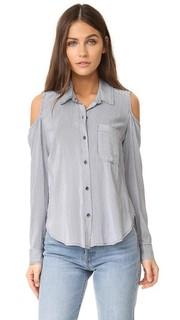 Блуза на пуговицах Boardwalk в полоску Splendid
