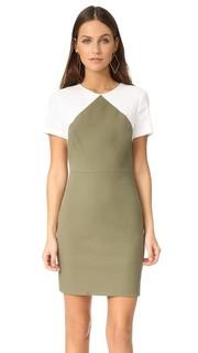 Идеально скроенное платье-футляр с короткими рукавами Diane von Furstenberg