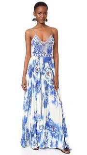 Плиссированное платье Ring of Roses Camilla