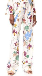 Широкие брюки Campbell Diane von Furstenberg
