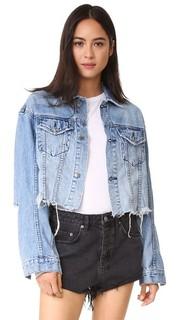 Укороченная джинсовая куртка Daggerz Ksubi
