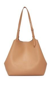 Объемная сумка с короткими ручками Irene Steven Alan