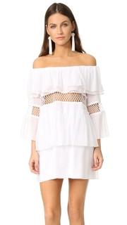 Пляжное платье Closer с оборками и открытыми плечами Suboo