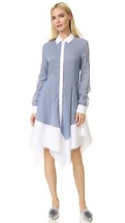 Платье из ткани Antonio Berardi