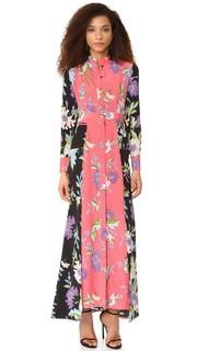Платье-рубашка до пола Diane von Furstenberg