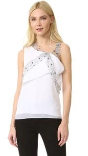 Блуза без рукавов Carven