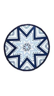Круглое полотенце Miramar с принтом Soleil