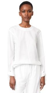 Блуза на завязках Dkny