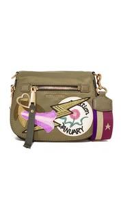 Маленькая седельная сумка Nomad из нейлона в лоскутной технике Marc Jacobs