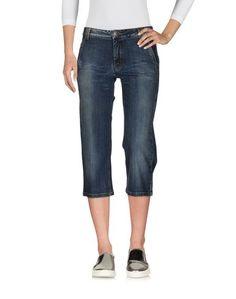 Джинсовые брюки-капри Jeans LES Copains