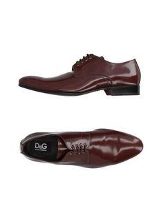 Обувь на шнурках D&G