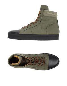 Высокие кеды и кроссовки Ermanno Scervino