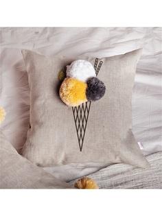Декоративные подушки Счастье в мелочах