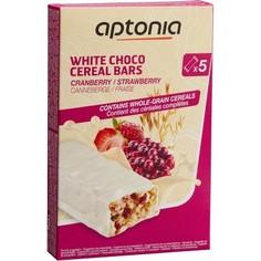 Глазированный Злаковый Батончик Белый Шоколад - Лесные Ягоды 5x32г Aptonia