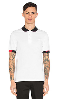 Tipped cuff pique polo - Fred Perry x Raf Simons
