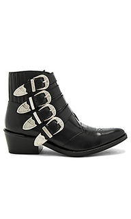 Buckled leather bootie - TOGA PULLA