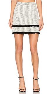 Frayed ottoman skirt - twenty