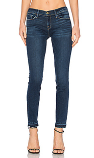 Le skinny de jeanne released cuff - FRAME Denim