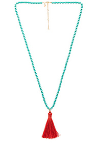 Bali beaded tassel necklace - Rebecca Minkoff