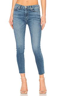 Barbara frayed hem super skinny - Hudson Jeans