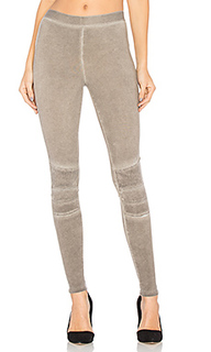 Stitched moto legging - David Lerner