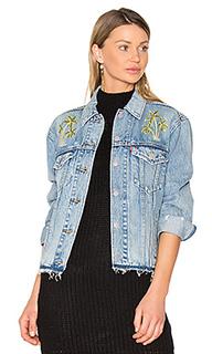 Джинсовая куртка с вышивкой palm - LEVIS Levis®