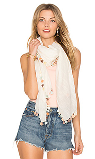 Silky tassel scarf - Michael Stars