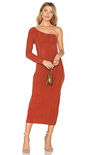 Трикотажное платье stam - TROIS