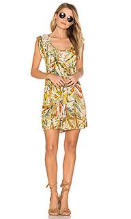 Платье-мини с коротким рукавом makki valley - Raga