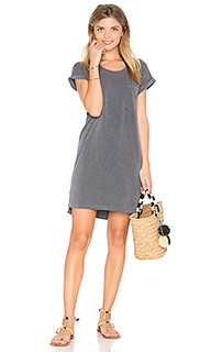 Roll sleeve tee dress - SUNDRY
